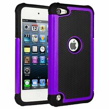 """4"""" Apple iPod Touch 5 5th Gen Hybrid Impact Shock Proof Hard Back Case Cover"""