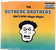 THE OUTHERE BROTHERS - DON'T STOP (WIGGLE WIGGLE) (6 track CD single)