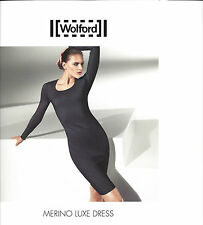 WOLFORD Merino Luxe Dress • S small • black / schwarz  ... als edles Basic Kleid