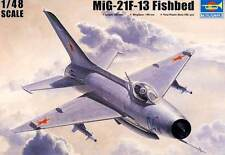 Trumpeter - MiG-21 F-13/J-7 Fishbed DDR Finnish CSSR China USSR Soviet 1:48 kit