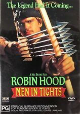 Mel BROOKS ROBIN HOOD MEN in TIGHTS (Cary ELWES Richard LEWIS) Comedy DVD Reg 4
