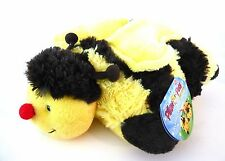 "New Pillow Pet Pee-Wee Small 11""  Bumble Bee  FREE SHIPPING"