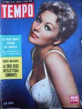 TEMPO n°27 1956 Kim Novak - Gary Cooper - Marghit Olsen  [C90]