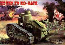 TYPE 79 KO-GATA JAPANESE ARMY TANK (JAPANESE FT 17) 1/35 RPM RARE!