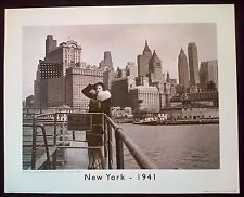 New york - 1941 40x50 cm art imprimé poster betty field