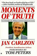 Moments of Truth by Jan Carlzon (1989, Paperback, Reprint)