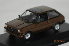 Ford Fiesta 1976 brau metallic 1:43 MaXichamps Minichamps neu & OVP 940085101