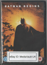 BATMAN BEGINS DVD - 1 DISC - BRAND NEW SEALED - UK RELEASE