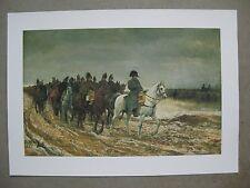 Affiche : Napoléon Bonaparte, campagne de France 1814 premier empire