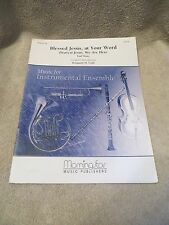 Blessed Jesus, at Your Word Dearest Jesus, We Are Here Sheet Music by Paul Manz