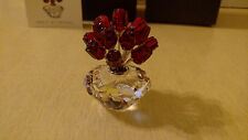 Swarovski Crystal The Vase Of Roses Jubilee Edition 283394 with Box 2002 RETIRED