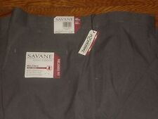 NWT SAVANE SELECT EDITION RELAXED FIT MINI CHECK PANTS W/PLEATED SZ: 46 X 32