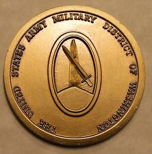 US Army Military District of Washington Commander 2-Star Gen Army Challenge Coin