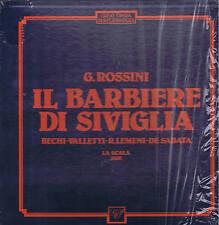 Rossini BARBIERE DI SIVIGLIA Bechi Valletti Lemeni De Sabata BOX 3 LP Gop sealed