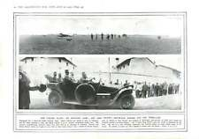 1915 Italian Aviator Camp King Victor Motor-car