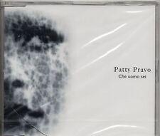 PATTY PRAVO CD single CHE UOMO SEI  2004  2 tracce NUOVO SIGILLATO sealed