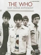 The Who Easy Guitar Anthology Tab Book