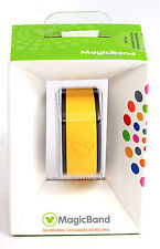 NEW Disney Parks Solid Yellow Link it Later Linkable Magic Band - NEVER USED