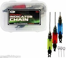 3 Chain Bite Indicators for bite alarms buzz bars bank sticks rod pods