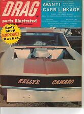 Drag Parts Illustrated Magazine July 1968 Green Hornet Funny Car - Avanti
