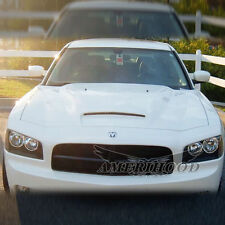 fiberglass hood for  2006-2010 Dodge Charger R style