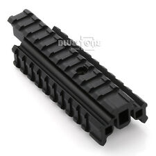 Flat Top 20mm Picatinny Weaver Tri Side Rail Base Carry Handle Mount For Rifle