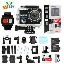 4K Action Camera Sports HD WiFi 1080P 60fps16MP Waterproof DV Remote Control Q3