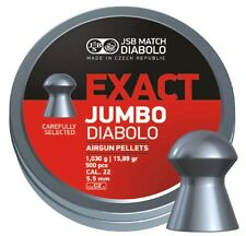 Exact Jumbo Diabolo Air Rifle Pellets Air Gun Ammunition .22 JSB 5.50