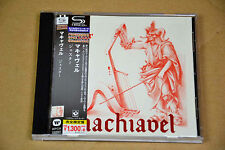 CD Machiavel Jester Harvest 1977 SHM-CD Japon Japan Audiophile