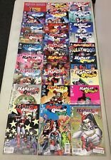 LOT OF 36 HARLEY QUINN #0, 1-23 COMPLETE SET+1 SHOTS + POWERGIRL #1-6 1ST PRINTS