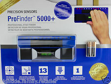 ProFinder 5000+ Professional Stud Finder Precisions Sensors Bubble Level & Ruler