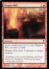1x Foil - Magma Rift - Magic the Gathering MTG Zendikar Foil