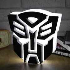 TRANSFORMERS AUTOBOT LIGHT - Freestanding Night Light - USB Powered