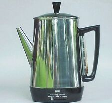 VERY Vintage GE General Electric 10 Cup Coffee Maker / Pot. NICE!!!