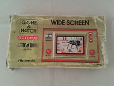 NINTENDO GAME&WATCH WIDESCREEN OCTUPUS OC-22 SOLO CAJA MAL ESTADO