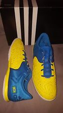 ADIDAS X 15.2 COURT YELLOW BLUE BRAZIL SHOES AQ2525 MENS US 9 NEW SOCCER