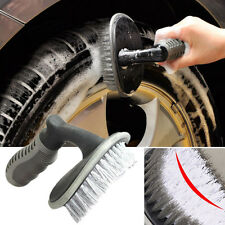 CAR TIRE WHEEL CLEANING BRUSH TOOL Bike Tyre Washing CLEAN SOFT BRISTLE CLEANER