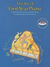 The Joy of First Year Piano Book Songbook by Denes Agay WITHOUT CD - NEW