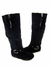 MADDEN GIRL WMN'S LACOSTA FAUX SHEARLING KNEE-HIGH BOOTS Sz Right 7.5/ Left 8