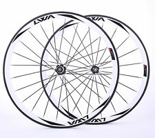 LVWA full 3K carbon fiber clincher wheelset 38mm bicycle Road bike 700C WHR38C2L