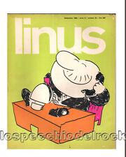 Linus - Settembre  1969  - anno 5  - n° 54 - lire 300 - Rivista a fumetti - R_2
