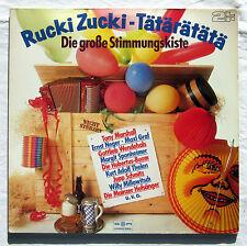 """12"""" LP Vinyl - RUCKI-ZUCKI-TÄTÄRÄTÄTÄ - Ernst Neger, Mainzer Hofsänger u.a."""