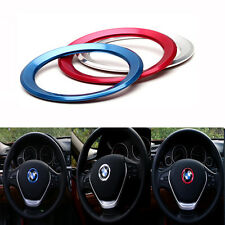 1pc Silver Steering Wheel Center Decoration Ring For BMW Logo Decoration Fashion