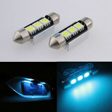 License / Number Plate LED Light Bulbs For VW Golf Mk4 Mk5 5 V TDI - Ice Blue