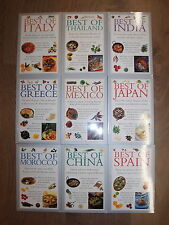* 9 MOUTH WATERING RECIPES OF THE WORLD by VALERIE FERGUSON * UK POST £3.25* PB*
