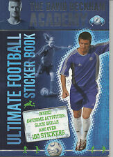 DAVID BECKHAM ACADEMY STICKER BOOK, UNUSED, COMPLETE
