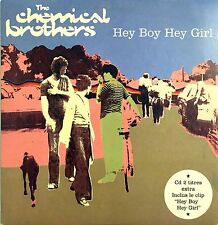 The Chemical Brothers CD Single Hey Boy Hey Girl - France (EX/EX)