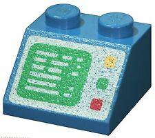 Missing Lego Brick 3039p23 Blue Slope Brick 45 2 x 2 with Computer Screen Patter