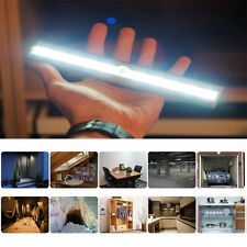 Wireless Motion Sensor 10 LED Super Night Light For Closet Stair Bedroom Cabinet