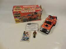 VINTAGE M.A.S.K. FIRECRACKER VEHICLE W/HONDO FIGURE & BOX KENNER 1986 MASK